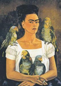Dívka Frýda a papouch