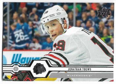 2019-20 - Upper Deck - Jonathan Toews - Chicago Blackhawks