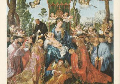 A.Dürer - Růžencová slavnost