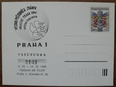Perfin - Výstava Prah 1984