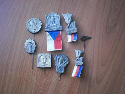 Různé, staré odznaky