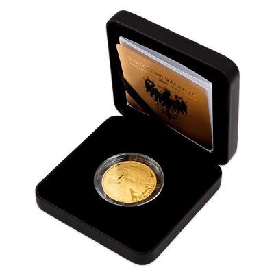 Zlatý 3 dukát sv. Václava se zlatým certifikátem 2021