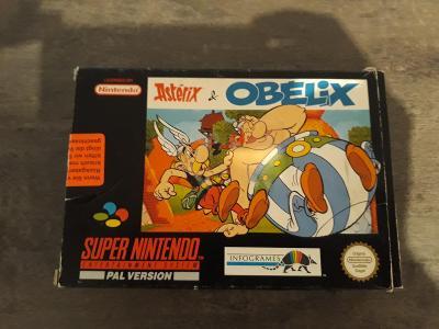 Super nintendo SNES Asterix & Obelix