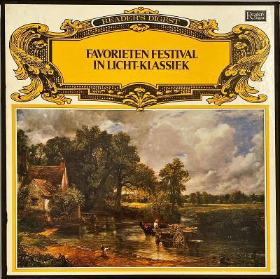 10LP Various Favorieten Festival In Licht-Klassiek, M