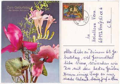 Rakousko - blahopřání k narozeninám