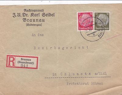 Sudety, firemní Broumov (Náchod), R- B.-Hejšovina, Polsko - Chlumec
