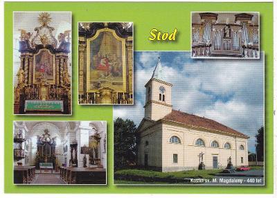 Stod - kostel sv. Máří Magdaleny
