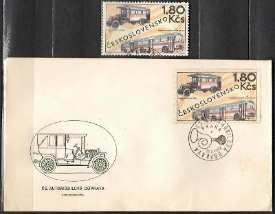 V9003   - FDC obálka prvního dne vydání + známky navíc