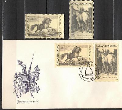 V9005   - FDC obálka prvního dne vydání + známky navíc