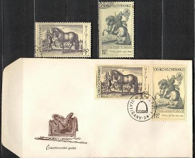 V9006   - FDC obálka prvního dne vydání + známky navíc