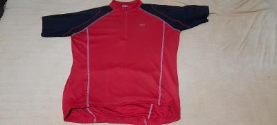 Cyklistika triko červenočerné