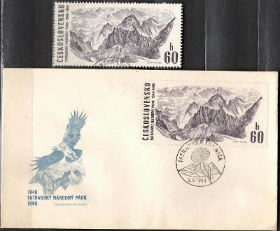 V9017   - FDC obálka prvního dne vydání + známky navíc