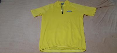 Cyklistika triko žluté