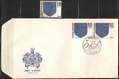 V9030   - FDC obálka prvního dne vydání + známky navíc