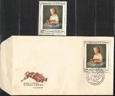 V9036   - FDC obálka prvního dne vydání + známky navíc