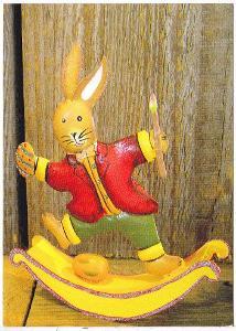 Německo - Dětská kreslená pohlednice