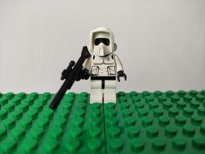 LEGO STAR WARS - figurka Scout Trooper + zbraň