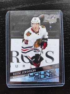 Chicago Blackhawks - Reese Johnson Young Guns 20/21 UD Extended Series