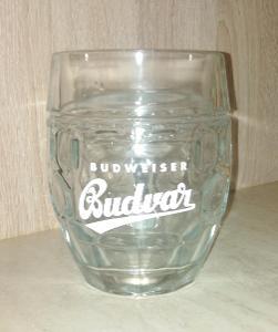 Půllitr s uchem Budweiser Budvar 0,5l