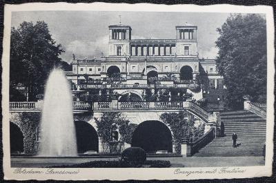 Německo - Potsdam/Postupim - Sanssouci - Oranžerie - 1942