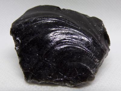 Obsidián Černý - Minerál XL surový vzorek 40 g TOP+ A+++