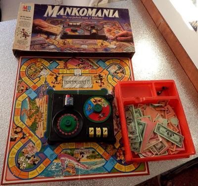 Stará německá hra s penězi - MANKOMANIA z roku 1985