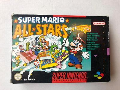 SNES Super Mario All Stars