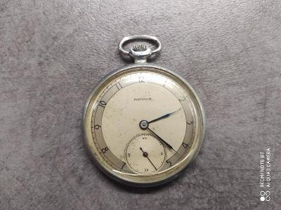 Nádražácké kapesní hodinky Molnija , funkční