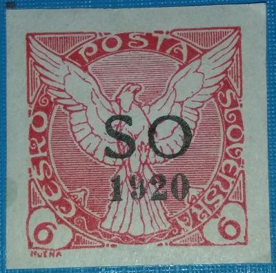 ČSR1 - Novinové -1920 - č. SO29 - 6h