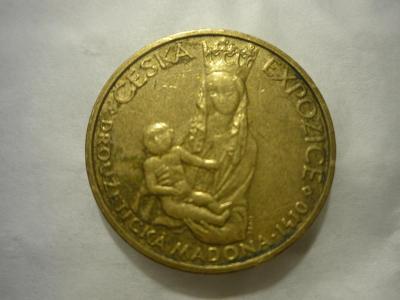 stará pamětní mince EXPO 2000 Droužetická madona -viz. foto