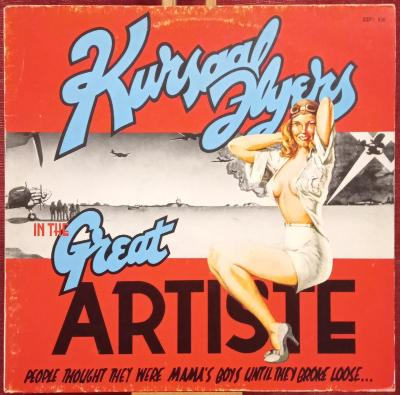 Kursaal Flyers – The Great Artiste (LP 1975 Germany)