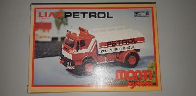 Stará hračka Monti system Liaz Petrol nie Kdn Ites Igra Směr