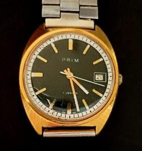 Staré hodinky PRIM funkční pěkný stav