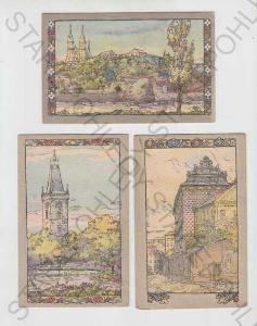 5x Praha 1, Hradčany, Novoměstská věž, Švarcenbers