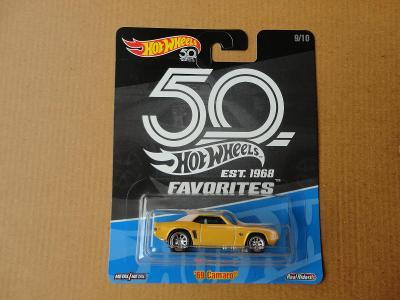 Hot Wheels 69 Camaro.Rozbalený.Krabička je otevřena.