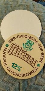 56 tácek pivovar Ostravar