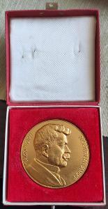 Zlatá, stříbrná a bronzová medaile Jana Jánského OD KORUNKY!!!