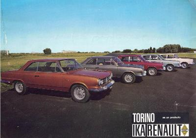 IKA Renault Torino GS, S, TS a L