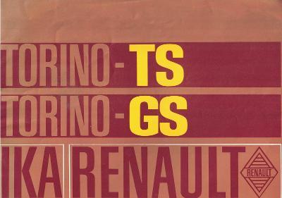 IKA Renault Torino-TS a Torino GS