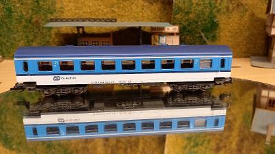 Čtyřosý osobní vůz Tilligttbahn ČD TT