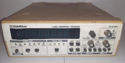 Univerzální tříkanálový čítač Goldstar FC-2130U do 1,3GHz