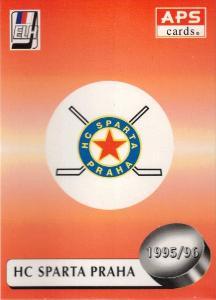 1995-96 Czech APS Extraliga Logo HC Sparta Praha