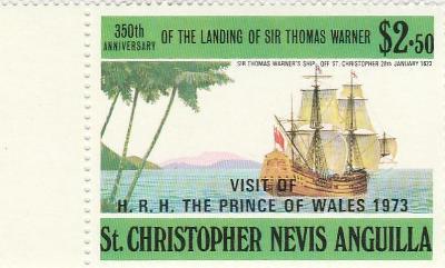 St. Christopher - Nevis  - Anguilla  - na doplnění - ostatní