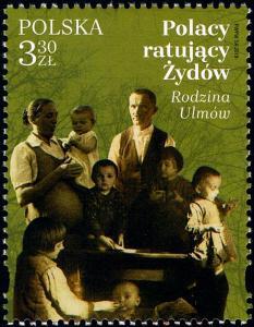 Polsko 2019 Známky Mi 5098 ** Židi Poláci zachraňující Židy