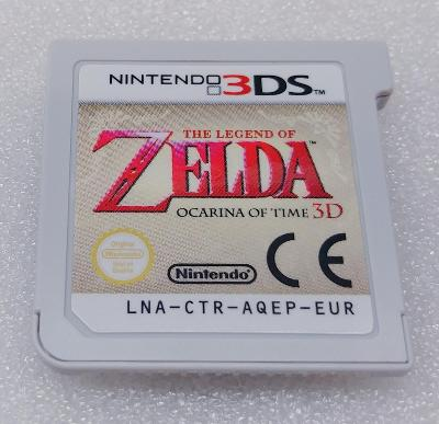 The Legend of Zelda Ocarina of Time 3D PAL  pro Nintendo 3DS/2DS