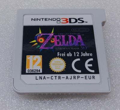 The Legend of Zelda: Majora's Mask 3D PAL  pro Nintendo 3DS/2DS