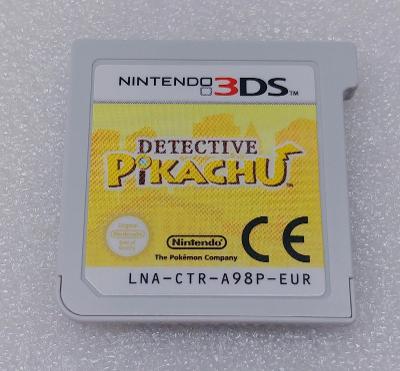 Detective Pikachu 3D PAL  pro Nintendo 3DS/2DS