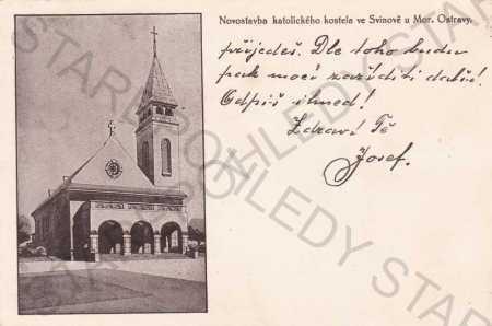 Svinov u Moravské Ostravy - Ostrava, katolický kos
