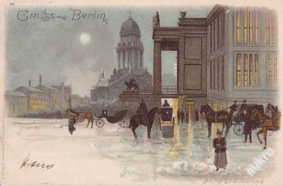 NĚMECKO - BERLÍN - DŮM KULTURY - LITHO - 13-UX-6