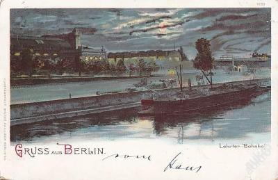 NĚMECKO - BERLÍN - NÁBŘEŽÍ V NOCI - 13-UX-7